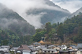 Japanese country landscape