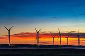 Wind turbines or wind energy converter
