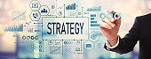 Strategy with businessman