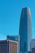 Downtown San Francisco skyline buildings