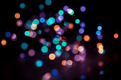 Party bokeh background