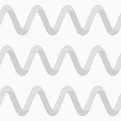 Abstract seamless wavy pattern, wavy ribbon lines.