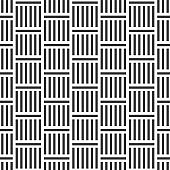 Abstract seamless geometric pattern with stripes lattice.