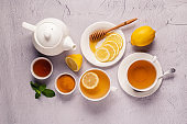 Green tea with lemon and honey, Immunity boosting and cold remedies