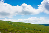 travel carpathian mountains in summer