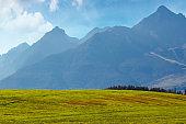 countryside summer landscape