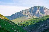 beautiful landscape of romania mountains