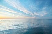 Beautiful seascape reflection.