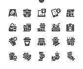 Coffee to go Well-crafted Pixel Perfect Vector Solid Icons 30 2x Grid for Web Graphics and Apps. Simple Minimal Pictogram