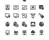 Network v3 UI Pixel Perfect Well-crafted Vector Solid Icons 48x48 Ready for 24x24 Grid for Web Graphics and Apps. Simple Minimal Pictogram
