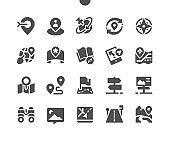 Navigation Well-crafted Pixel Perfect Vector Solid Icons 30 2x Grid for Web Graphics and Apps. Simple Minimal Pictogram