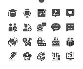 Social Icons Well-crafted Pixel Perfect Vector Solid Icons 30 2x Grid for Web Graphics and Apps. Simple Minimal Pictogram