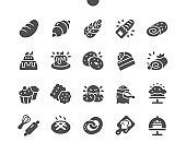 Bakery Well-crafted Pixel Perfect Vector Solid Icons 30 2x Grid for Web Graphics and Apps. Simple Minimal Pictogram