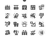 Bar Well-crafted Pixel Perfect Vector Solid Icons 30 2x Grid for Web Graphics and Apps. Simple Minimal Pictogram
