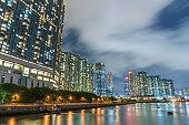 residential building in Hong Kong city