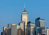 Skyline of Hong Kogn city
