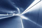 futuristic modern tunnel
