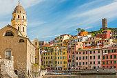 Idyllic landscape of Cinque Terre, Liguria, Italy