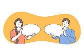 Communication, connection, chat concept