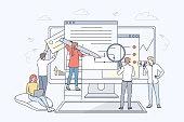 Business, web development, collaboration, programming, teamwork concept