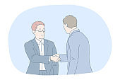 Agreement, deal, business, successful negotiations, teamwork concept