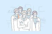Healthcare, medicine, covid19, infection, 2019ncov, coronavirus, protection concept.