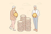 Money, business, insurance, deposit, saving concept