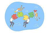 Business, teamwork, collaboration concept