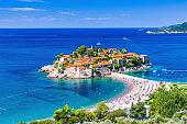 Sveti Stefan, Montenegro.