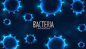 virus or bacteria infection cells background design