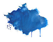 hand drawn watercolor splatter texture background design