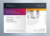 modern business brochure presentation professional template design