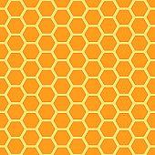 Seamless honey combs pattern.