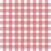 Checkered red and white check pattern background,vector illustration,Gingham
