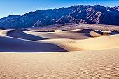 Magical desert morning