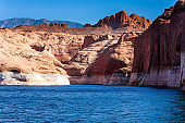 Great reservoir on the Colorado River
