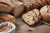 Handmade, freshly baked breads
