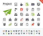 Office Project - Sticker Icons