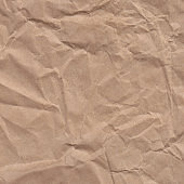 Crumpled paper, recycled paper