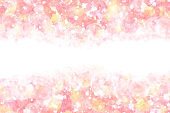 pastel color new year pink abstract on natural grunge watercolor paint sky background