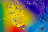 Abstract colored background close-up.