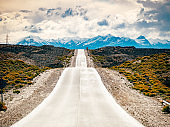 Road trip in Patagonia, on the way to El Chalten