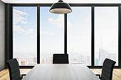 Luxury meeting room interior