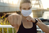 She's fighting against virus with a healthy lifestyle!