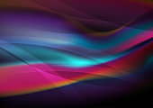 Bright smooth flowing liquid waves abstract background