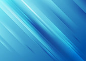 Bright blue shiny stripes abstract concept background