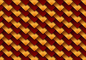 Dark red and bronze squares abstract tech background