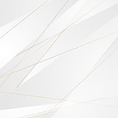 Grey white corporate background with golden lines