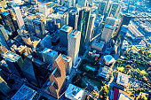 Downtown Houston Aerial