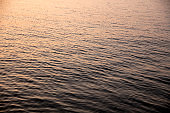 Sunset water surface